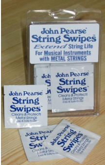 John Pearse string swipes