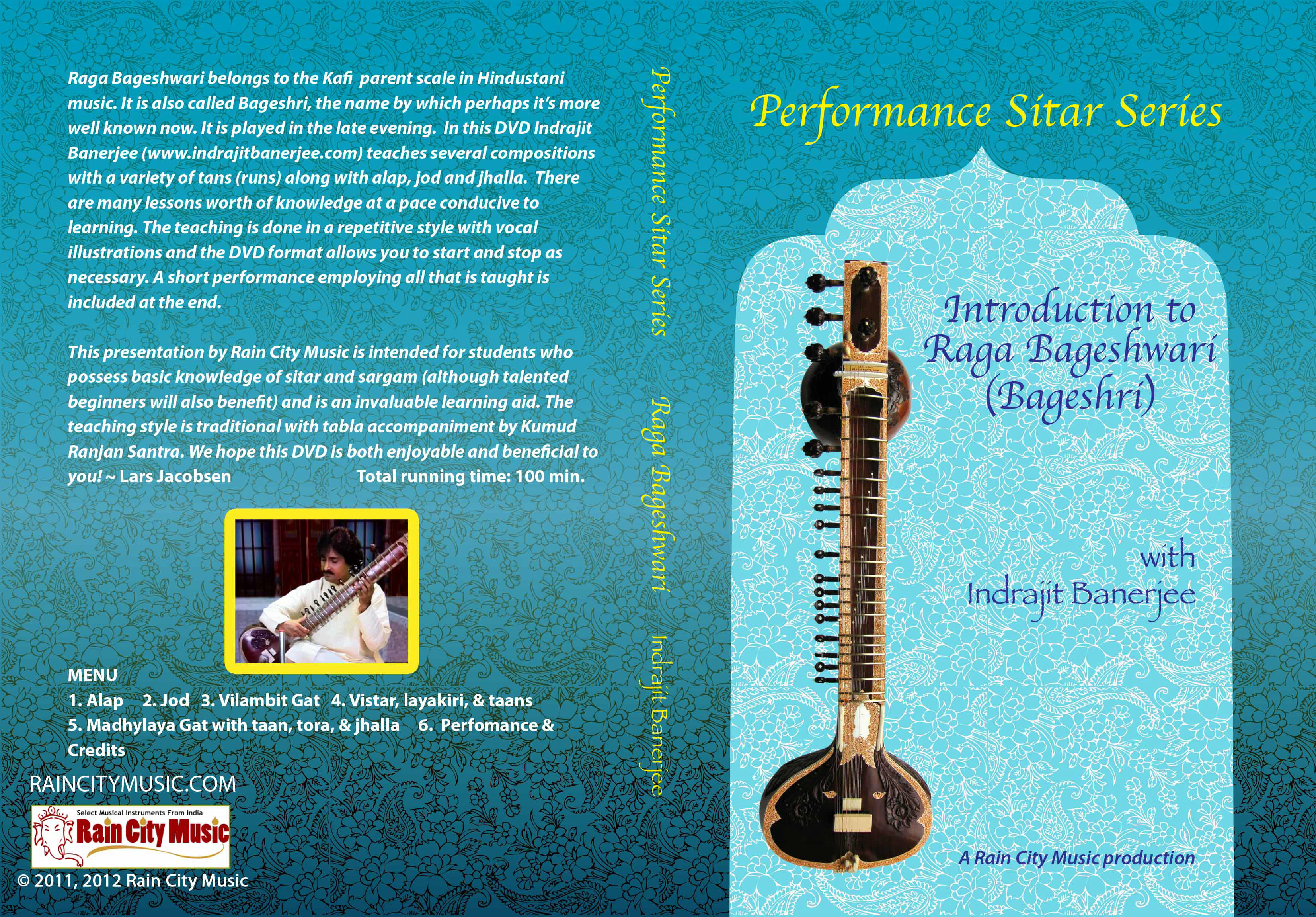 bageshwari sitar tutor learn raga bageshri or bageshree on sitar